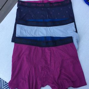 Ted Baker London New (3) Stretch Modal Boxer Brie